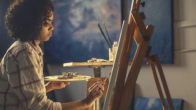 malovaní obrazu