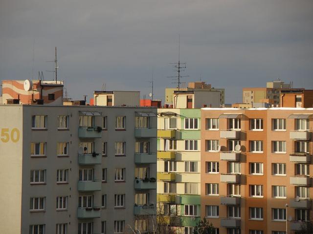 bydlení na sídlišti