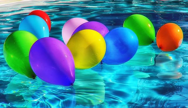 hra s balonky