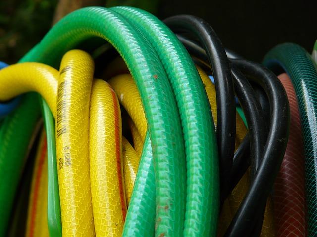 zelená hadice