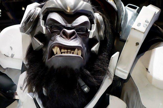 socha hlavní postavy ze světa Warcraft