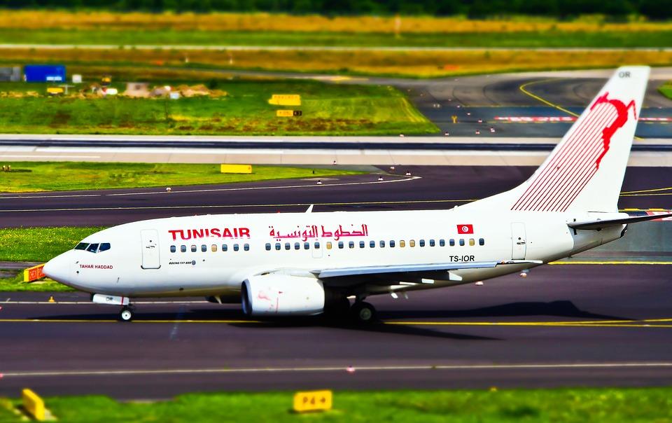 tuniské letadlo